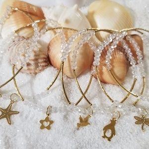 Jewelry - 14k gold plated Handmade Semanario Bracelet set